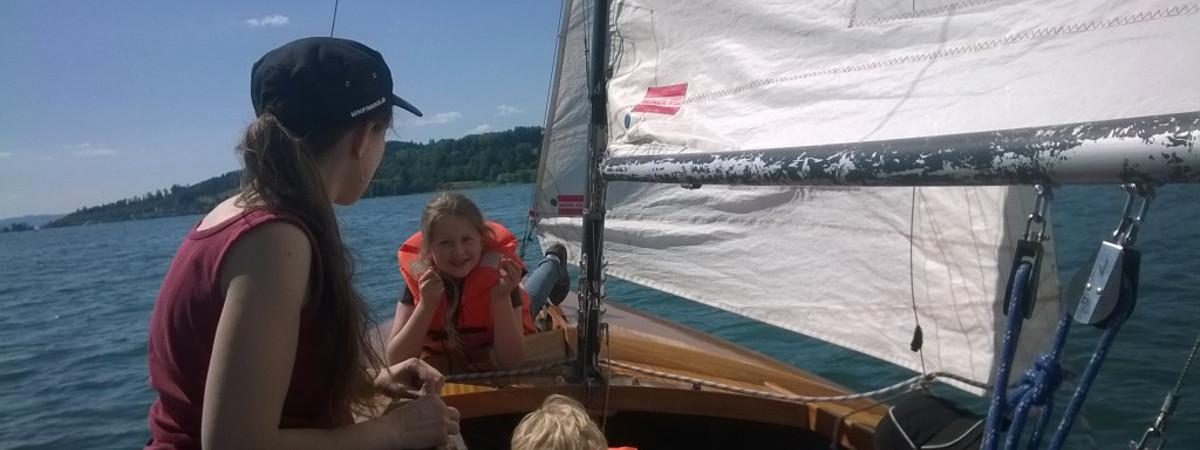 Kielzugvogel segeln